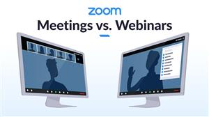 Zoom Meetings e Zoom Video Webinar